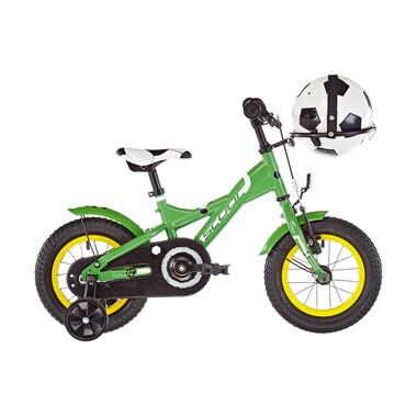 """Vélo Enfant S'COOL XXLITE SOCCER Acier 12"""" Vert 2020"""